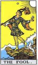 The Fool, Rider-Waite Tarot Pack