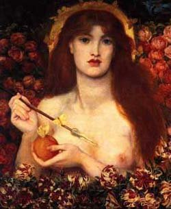 Rossetti's Venus. Click for more on Venus