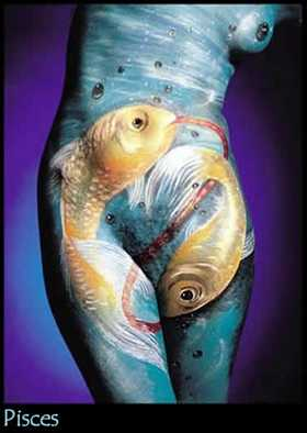 Pisces, the Fishes. Click for more on Pisces