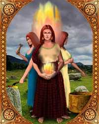 Brigit, Triple Goddess of Ireland