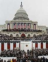 Inauguration of President G W Bush