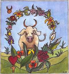 Taurus, the Bull. Click for more on Taurus
