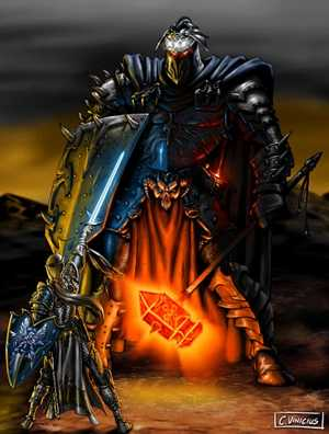 Fingolfin vs Morgoth, by Vinicius
