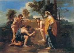 Arcadia, by Poussin
