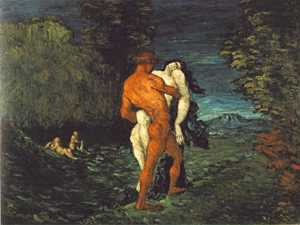 Abduction, by Paul Cézanne