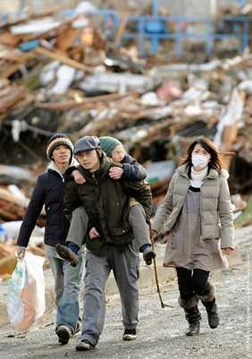Sendai Earthquake Survivors