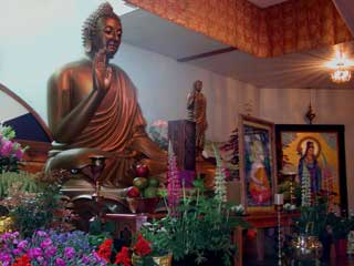 Wesak Statue at Shasta Abbey