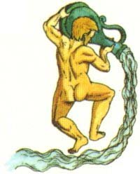 Aquarius, the Water Bearer