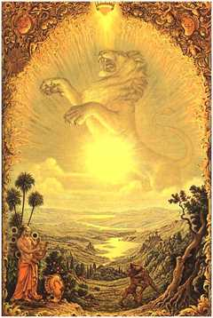 Leo, the Lion, by Johfra Bosschart. Click for more on Leo