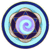 Aquarius Mandala by Helen Grant-Johnston