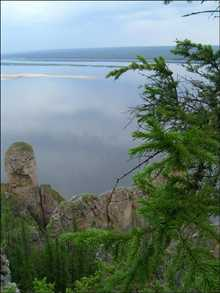 Lake at Yakutia