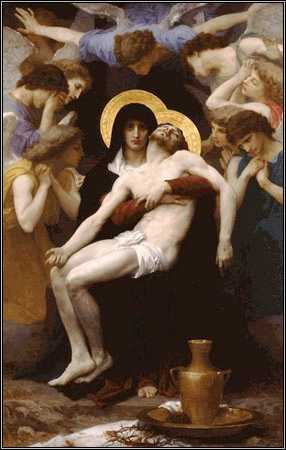 Pieta, by Bouguereau