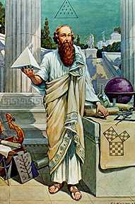 Pythagoras. Click for more on Numerology