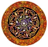 Celtic Shield by Bernard Casimir. Click for More