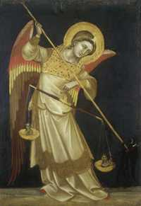 Archangel Michael by Ridolfo Guariento