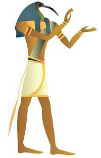 Thoth, the Egyptian Mercury