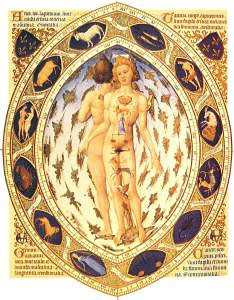 The Heavenly Man, by the Limbourg Brothers